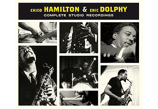 Chico Hamilton, Eric Dolphy - Complete Studio Recordings (CD)