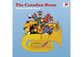 The Canadian Brass - All you need is Brass - (CD)