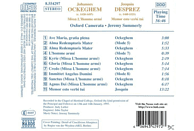 VARIOUS, Jeremy/oxford Camerata Summerly - Missa L'Homme Arme [CD]
