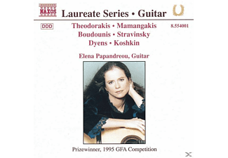 Elena Papandreou - Serie Laureate-Guitar Recital - (CD)