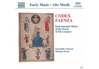 Michael Ensemble Unicorn & Posch - Codex Faenza - (CD)