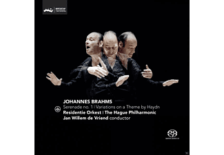 The Hague Philharmonic, Residentie Orkest - Serenade 1 & Variations On A Theme By Haydn - (SACD Hybrid)