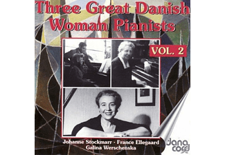 France Ellegaard, Johanne Stockmarr - 3 grosse dänische Pianistinnen vol.2 - (CD)