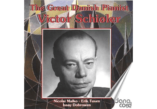 Victor Schioler - The Great Danish Pianist Victor Schioler - (CD)