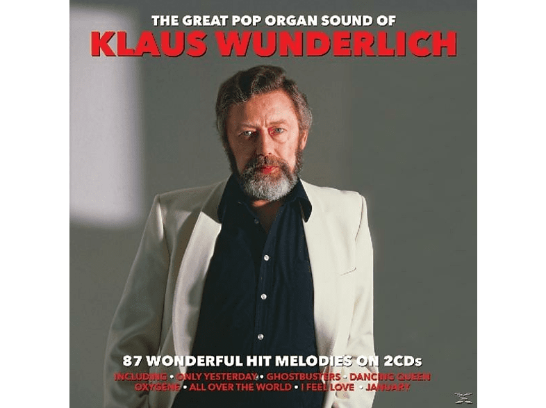 Klaus Wunderlich - The Great Pop Organ Sounds [CD]