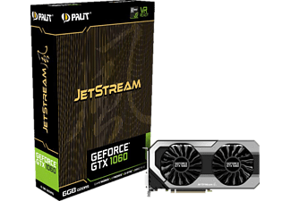 PALIT GeForce® GTX 1060 JetStream 6GB (NE51060015J9J)( NVIDIA, Grafikkarte)