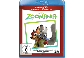 Zoomania (3D+2D Superset) - (3D Blu-ray (+2D))