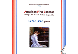 Cecile Licad - Anthology of American Piano Music Vol.1 - American First Sonatas - (CD)