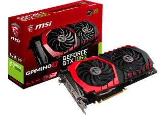 MSI GeForce GTX 1060 Gaming X 6GB (V328-001R)( NVIDIA, Grafikkarte)