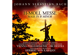 BACH, J.S. - KARAJAN, H., Herbert von Karajan - H-Moll Messe-Mass In B Minor (Ga) [CD]