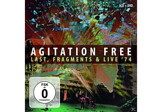 Agitation Free - Box (Fragments,Live 74 & Last) - (CD + DVD Video)