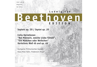 Ludwig Van Beethoven - Septett-Cello-Variationen - (CD)