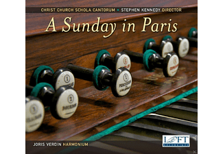 Joris Verdin, Christ Church Schola Cantorum - A Sunday in Paris - (CD)