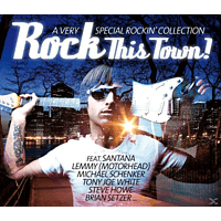 VARIOUS - Rock This Town! [CD]