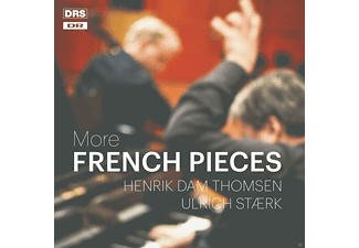Henrik Dam Thomsen, Ulrich Staerk - More French Pieces - (CD)