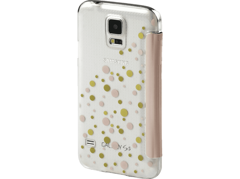 HAMA Candy Drops Bookcover Samsung Galaxy S5 Neo High-Tech-Polyurethan (PU)/Kunststoff Rosa