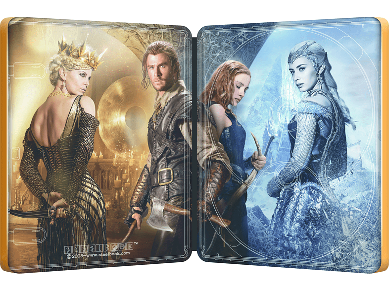 The Huntsman & The Ice Queen (Limited Steel-Edition) [Blu-ray]