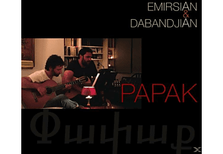 Emirsian & Dabandjian - Papak - (CD)
