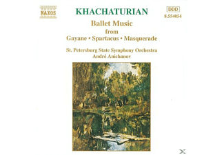 ST. PETERSBURG SSO, Anichanow/St.Petersb.St.So. - Ballettmusik - (CD)