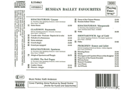 St. Petersburg State Symphony Orchestra, Moscow Symphony Orchestra, New Zealand Symphony Orchestra, Ukraine National Symphony Orchestra - Beliebte Russische Ballette [CD]