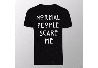 Normal People Scare Me (Shirt XL/Black)