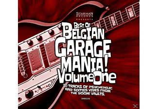 VARIOUS - Best Of Belgian Garage Mania Vol. 1 - (CD)