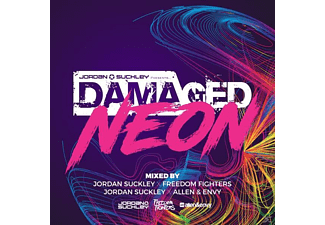 Jordan/Allen & Envy/Freedom Fight. Suckley - Damaged Neon - (CD)