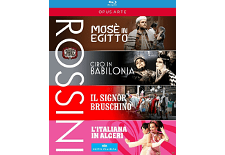 Diverse Opernsänger - Rossini Festival Collection - (Blu-ray)