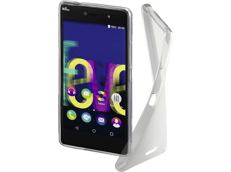 Crystal Backcover Wiko Fever 4G Thermoplastisches Polyurethan Transparent | 04047443317261