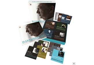 Nikolaus Harnoncourt, Concentus Musicus Wien, VARIOUS - Harnoncourt-The Complete Sony Recordings - (CD + DVD Video)