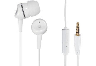 HAMA In-ear Stereo Hörlur Basic4Phone - Vit