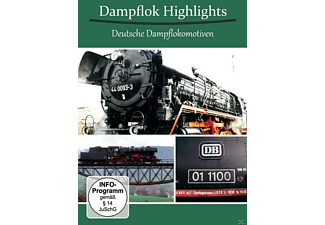 Dampflok Highlights - Deutsche Dampflokomotiven - (DVD)