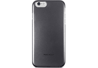 MACALLY Θήκη iPhone 6 Plus - Black metallic - (SNAPP6L-B)