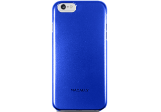 MACALLY Θήκη iPhone 6 Plus - Blue metallic - (SNAPP6L-BL)