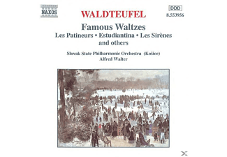 Slovak State Philharmonic Orchestra, Walter/Slow.Staatl.Philh.Or - Berühmte Walzer - (CD)