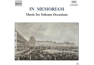 VARIOUS - In Memoriam - (CD)