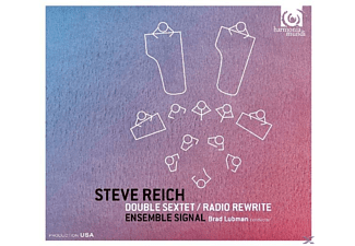 Ensemble Signal & Brad Lubman - Double Sextet / Radio Rewrite - (CD)