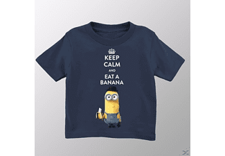 Keep Calm (Kids Shirt 128/Black)