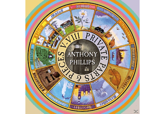Anthony Phillips - Private Parts & Pieces - (CD)