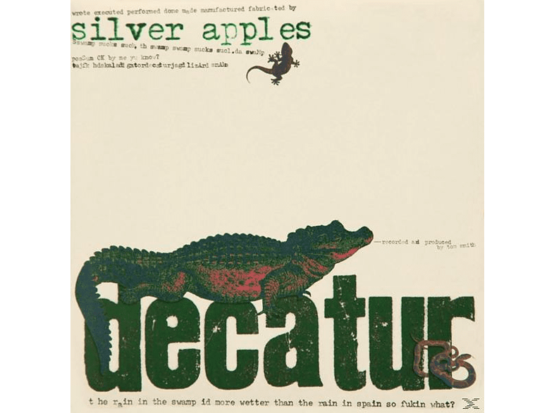 Silver Apples - Decatur [CD]