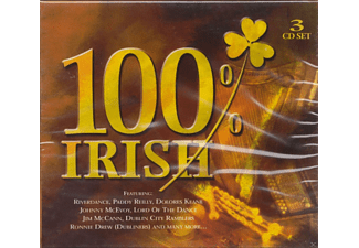 VARIOUS - 100 Percent Irish - (CD)