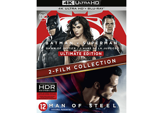 Batman V Superman - Dawn of Justice Ultimate Edition + Man of Steel NL/FR Blu-ray 4K