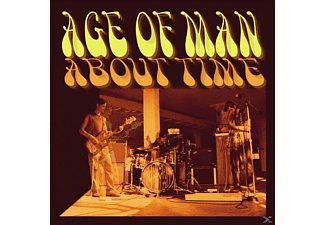 Age Of Man - About Time (Black Vinyl) - (Vinyl)