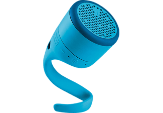 Altavoz inalámbrico - Polk Audio Swimmer Junior, Bluetooth, Resistencia al agua, Azul