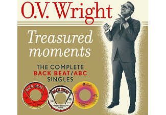 O.V. Wright - Treasured Moments (Complete Back Beat/ABC Singles) - (Vinyl)