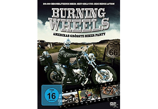 Burning Wheels - Bikertreffen in Florida - (DVD)