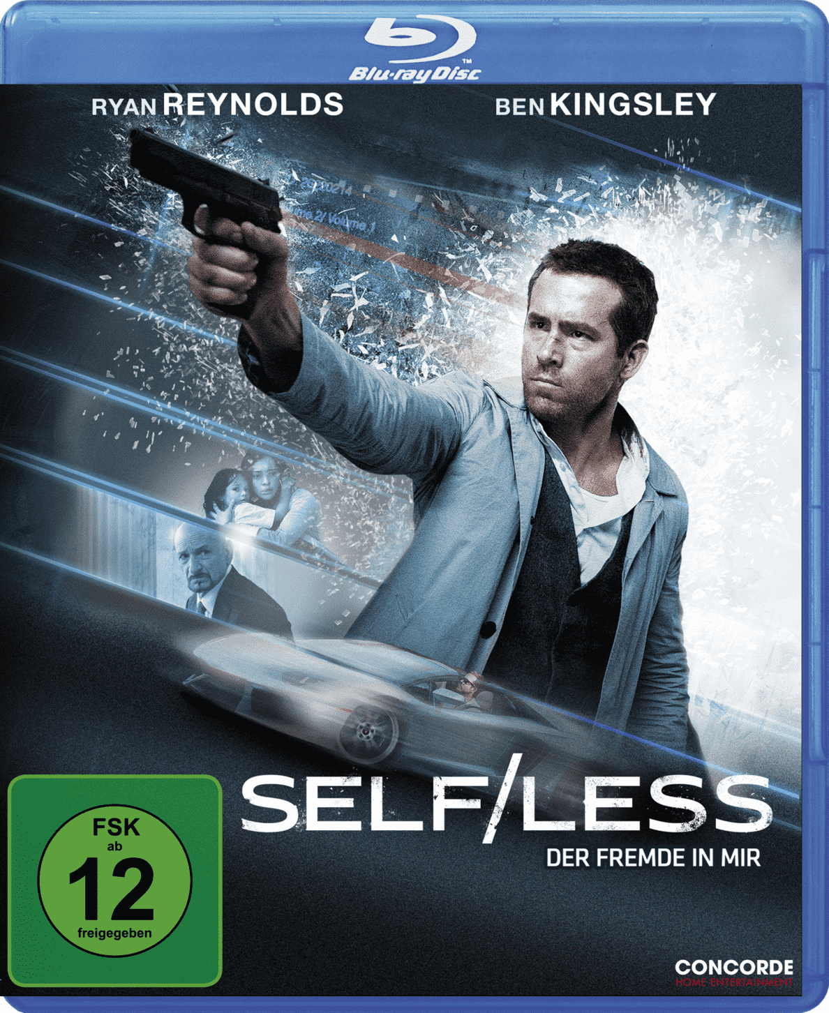 Self/Less - Der Fremde in mir - (Blu-ray)