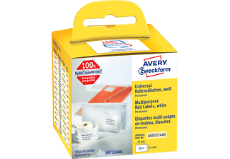 AVERY ZWECKFORM AS0722440 ROLLENETIKETTEN UNIVERSAL70X54MM 320ST