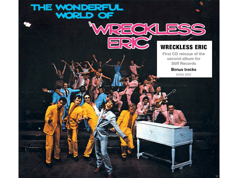 Wreckless Eric - The Wonderful World Of Wreckless Eric (+Bonus) [CD]