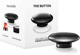 FIBARO FIBEFGPB-101-2 The Button, Taster, kompatibel mit: Z-Wave